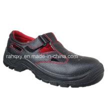 Vermelho quente costura Sandália estilo sapatas de segurança (HQ05029-1)