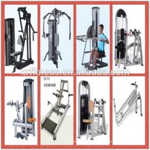 Sitzende Rudermaschinemulti-Gymnastikausrüstung der Stärke-Maschinen-Sitzreihe