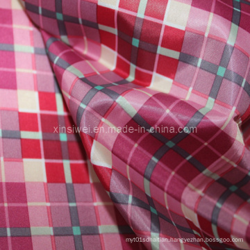 Polyester Taffeta Fabric with Printed (SLTN9109)