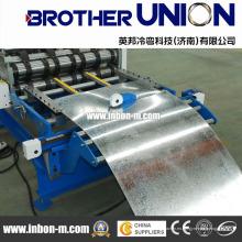 Máquina formadora de rollos de hoja de panel inferior de tablero compuesto de tipo manual