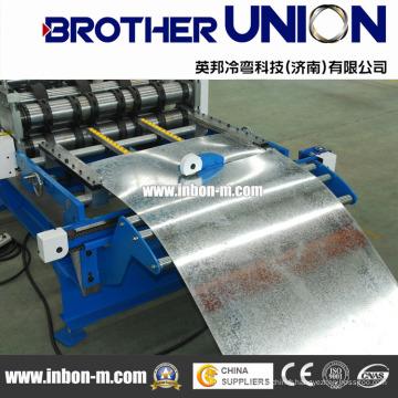 Machine de fabrication de tuiles en aluminium entièrement automatique
