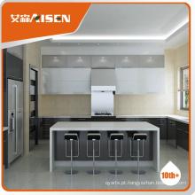 Garantia comercial razoável e confiável fornecedor de gabinete de cozinha Hangzhou, armário de cozinha de alto brilho de venda quente 2016