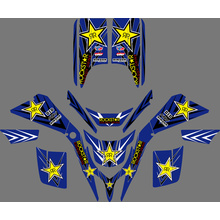 Yamaha Decal Sticker For Dirt Bike