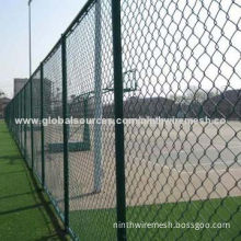 Wire mesh fence, used as protection fencing for road, railway, airport and residence district