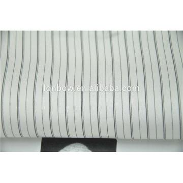 Wholesale regular stock 100% Cupro stripe lining fabric