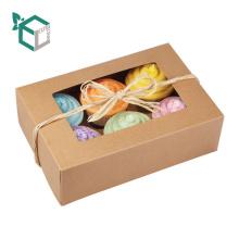 Alibaba 2017 novo design FSC food grade papel fez euro mercado barato caixas de cupcake preço