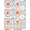 Material PVC Impresso Design Transparente Toalha de Mesa (TJ0054) Atacado Fábrica