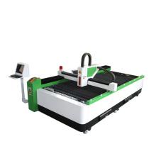 Faserlaser-Schneidemaschine zerteilt Platte und Rohr