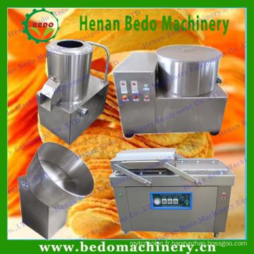 Petite machine de cips de pomme de terre de BEDO / petite chaîne de production de pommes chips / frites françaises faisant la ligne