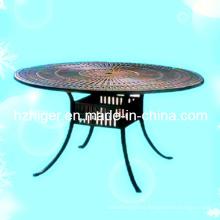 Partes de muebles de aluminio, Muebles de exterior