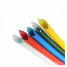 Douille flexible résistante à la corrosion d'isolation de fibre de verre de tuyau d'échappement de haute résistance