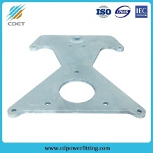 Good Quality for Link Fitting For Power Plant Power Line Fitting HDG Steel Towing Plate supply to Brazil Wholesale