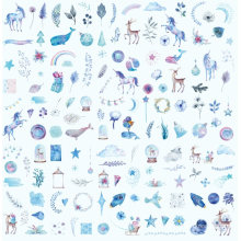 Wholesale High Quality Custom Children Cartoon Sticker for Gift 1