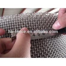 нержавеющая сталь/гальванизировала обжимной ячеистая сеть weave