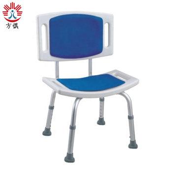 Chaise de bain en plastique réglable en hauteur pour personnes handicapées Chaise de douche