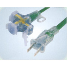 Japanese PSE Extension Cords with 3-outlet