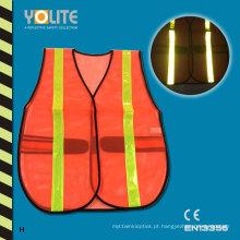 Colete reflexivo da segurança do CE En13356, veste de advertência da segurança para o esporte