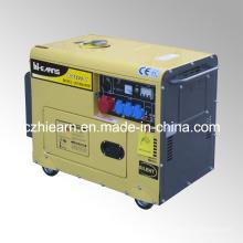 Grupo de gerador silencioso do motor do poder 6kw 12HP diesel (DG7500SE)