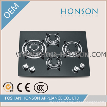Popular AC Power Built in Gas Hob with Graceful Looking