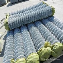 Clôture électro galvanisée à mailles losangées pour clôture de sécurité