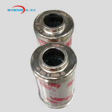 Hydraulic oil filter cartridge filter element