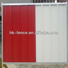 35 mm x 40 mm x 35 mm canal cruzado sitio de construcción Panel de valla de acaparamiento temporal con tubo de marco de 38 mm