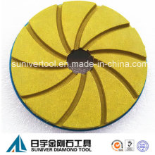 50# Auto Edge Polishing Pads Snail Lock