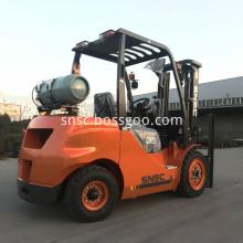 3.5 Ton Lpg Gas Powered Forklift
