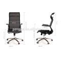 ergonomic body curve fit office supplied mesh chair computer