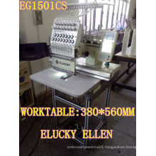 ELUCKY Best Sell single head shop / home computerized embroidery machine