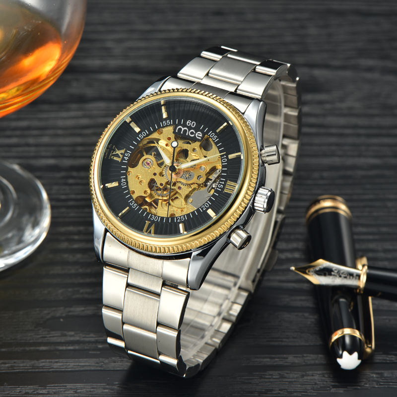 world top 10 name brand low price mechanical wrist watch