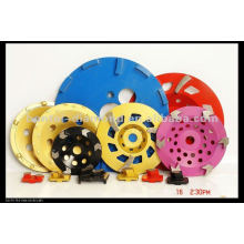 7inch and 10inch cup grinding disc with diamond segments