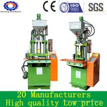 Máquina vertical do molde da injeção do preço para o cabo do plugue do PVC
