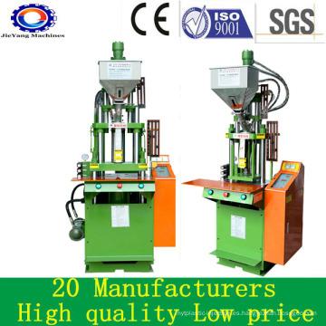 Máquina de moldeo por inyección de precio vertical para cable de enchufe de PVC