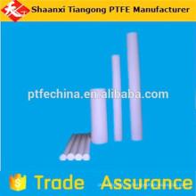 Пластиковый стержень из политетрафторэтилена с графитовым наполнением большого диаметра