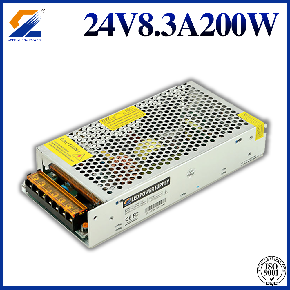 24VDC 200W Output LED Driver power supply