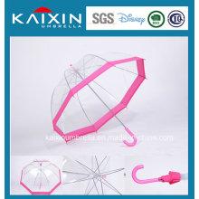 Paraguas transparente al aire libre a prueba de viento a medida