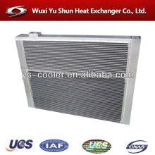 Refrigerador de água / ar para ar trocador de calor / escavadeira de alumínio radiador / peças sobressalentes escavadeira / ar sobressalente