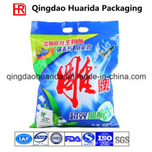 Back Sealed Flat Detergent Washing Powder Packaging Bag