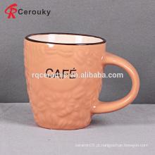 Caneca de café de cerâmica de pequena capacidade barata por atacado