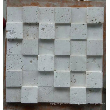 3D Stone Mosaic Tile for Wall (HSM206)
