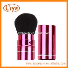 Liya rosa Farbe Foundation Kabuki Brush für Reisegröße