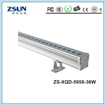 Arruela exterior 1m IP67 DMX512 da parede do diodo emissor de luz das luzes
