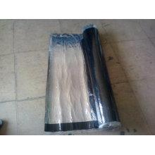Membrana auto-adesiva de betume utilizada como material impermeável
