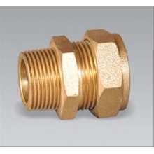 Brass pipe fitting Male Compression Nipple