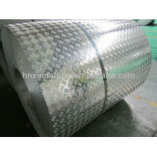 A5083 ,A5754 h114 aluminum embossed sheet for semi-trailer