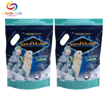 BRC Standard High Barrier Reißverschluss Pet Food Bag