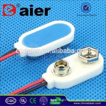 Hohe Qualität DCK11 I-Typ Plastic Soft Leather18650 / CR2023 / 9V / Wasserdichte Batterie Halter mit Draht führt
