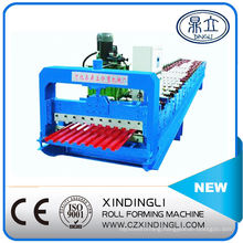 Red Color Steel Roll Shutter Door Roll Forming Machinery