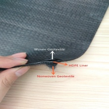 High tenacity woven geotextile